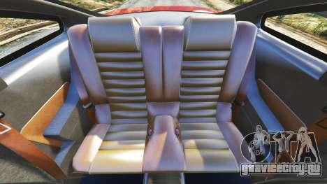 Ford Mustang GT 2005 для GTA 5 руль и приборная панель