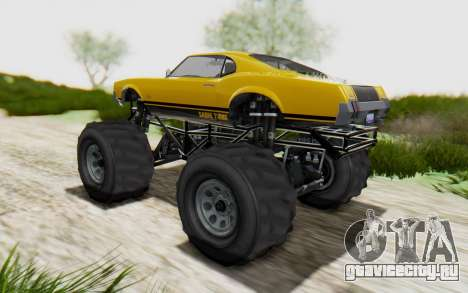 Declasse Sabre Turbo XL для GTA San Andreas вид слева