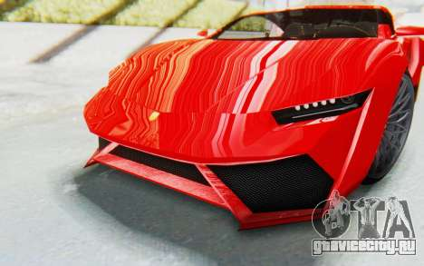 GTA 5 Pegassi Reaper IVF для GTA San Andreas вид сбоку