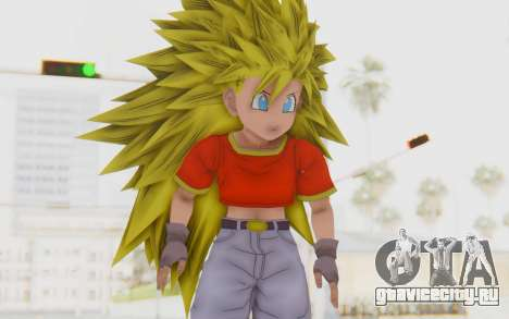 Dragon Ball Xenoverse Pan SSJ3 для GTA San Andreas