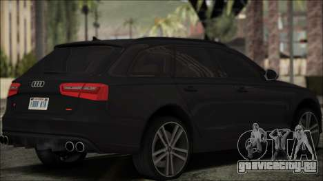 Audi S6 для GTA San Andreas вид слева
