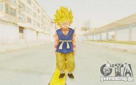 Dragon Ball Xenoverse Goku Kid GT SSJ для GTA San Andreas второй скриншот