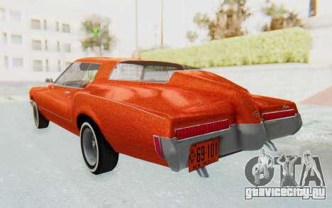 Buick Riviera 1972 Boattail Lowrider для GTA San Andreas вид слева