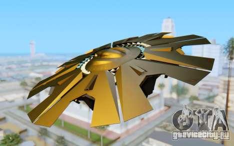 GTA 5 UFO B-2 Style для GTA San Andreas вид слева