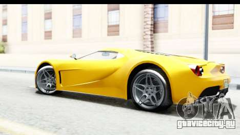 GTA 5 Vapid FMJ для GTA San Andreas вид слева