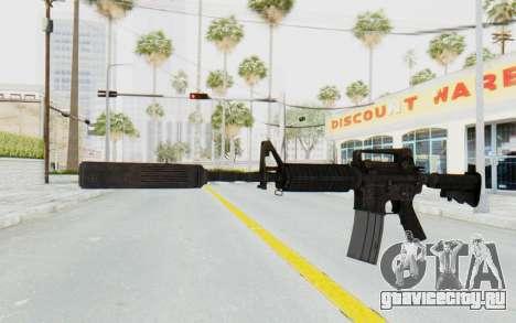 Assault M4A1 Silenced для GTA San Andreas