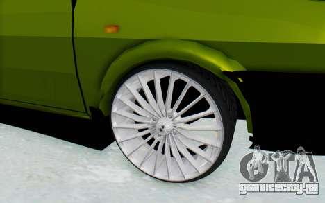 Dacia 1300 4x4 для GTA San Andreas вид сзади