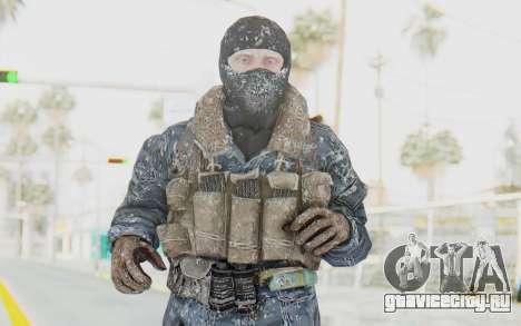 COD BO Russian Soldier Winter Balaclava для GTA San Andreas