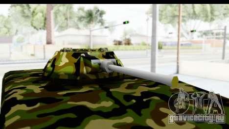 УАЗ-469 Военная полиция Сербии для GTA San Andreas вид сзади