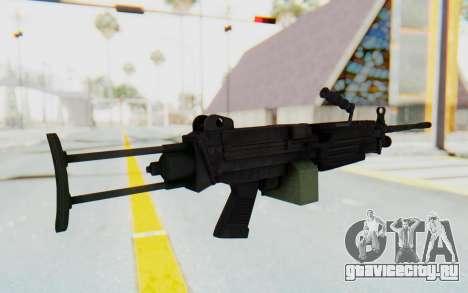 FN Minimi M249 Para для GTA San Andreas третий скриншот