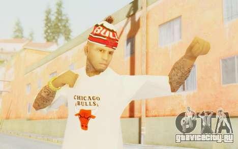 Bulls Skin для GTA San Andreas