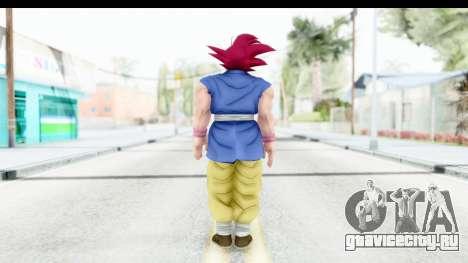 Dragon Ball Xenoverse Goku GT Adult SSG для GTA San Andreas третий скриншот