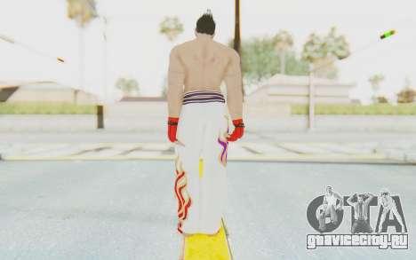 Kazuya Mishima Skin для GTA San Andreas третий скриншот