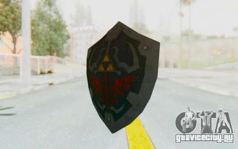 Hylian Shield HD from The Legend of Zelda для GTA San Andreas