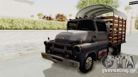 Chevrolet 56 Mini C.O.E. для GTA San Andreas вид справа