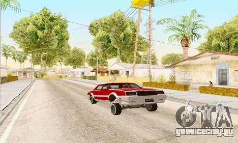 New Tahoma from GTA 5 для GTA San Andreas вид справа