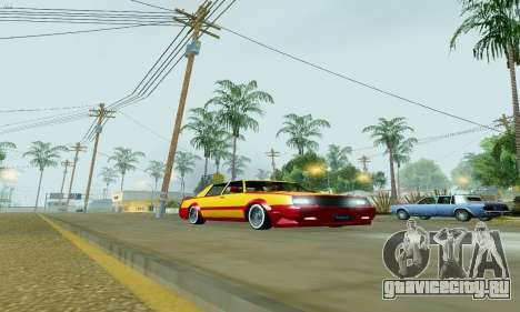New Tahoma from GTA 5 для GTA San Andreas вид слева