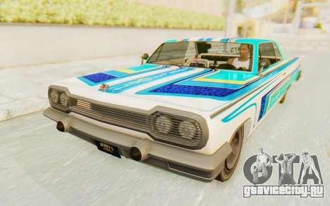 GTA 5 Declasse Voodoo для GTA San Andreas вид сбоку