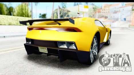 GTA 5 Pegassi Reaper v2 IVF для GTA San Andreas вид справа