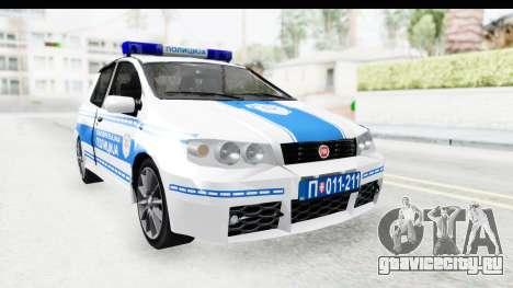 Fiat Punto Mk2 Policija для GTA San Andreas