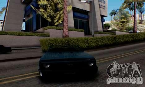Chevrolet 369 Camaro SS для GTA San Andreas вид сзади слева