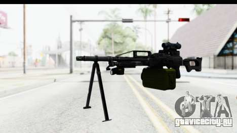 Kalashnikov PK (PKM) для GTA San Andreas второй скриншот