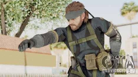 MGSV Phantom Pain Big Boss SV Sneaking Suit v1 для GTA San Andreas