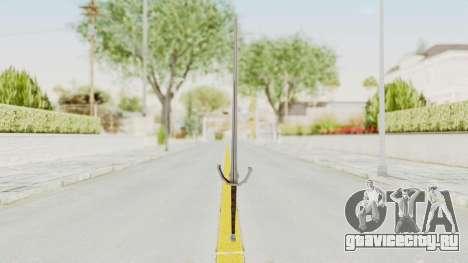 The Witcher 3: Wild Hunt - Sword v1 для GTA San Andreas второй скриншот