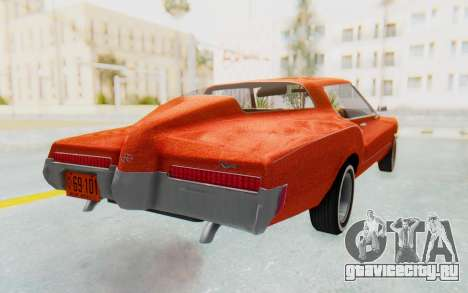 Buick Riviera 1972 Boattail Lowrider для GTA San Andreas вид сзади слева