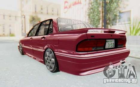 Mitsubishi Galant VR4 1992 для GTA San Andreas вид сзади слева