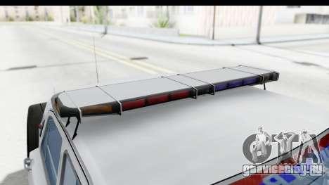 ГАЗ 24 Police Highway Patrol для GTA San Andreas вид сбоку