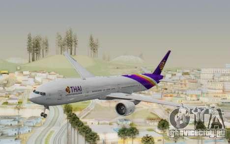 Boeing 777-300ER Thai International Airways для GTA San Andreas