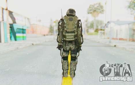 CoD AW US Marine Assault v3 Head C для GTA San Andreas третий скриншот