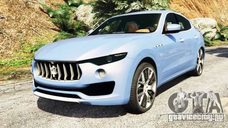 Maserati Levante 2017 [add-on] для GTA 5