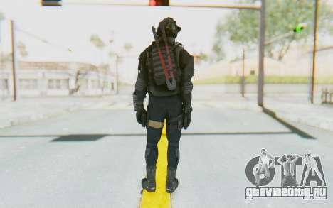 Federation Elite SMG Tactical для GTA San Andreas третий скриншот