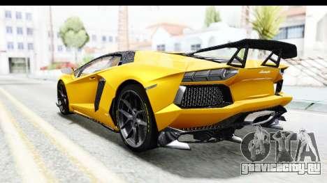 Lamborghini Aventador LP700-4 LB Walk для GTA San Andreas вид справа