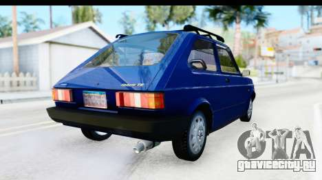 Fiat 147 Spazio TR Stock для GTA San Andreas вид справа