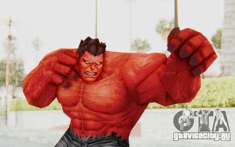 Marvel Future Fight - Red Hulk для GTA San Andreas