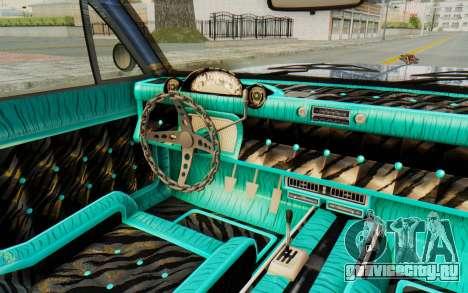 GTA 5 Declasse Voodoo Alternative v2 PJ для GTA San Andreas вид изнутри