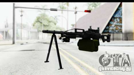 Kalashnikov PK (PKM) Iron Sights для GTA San Andreas второй скриншот