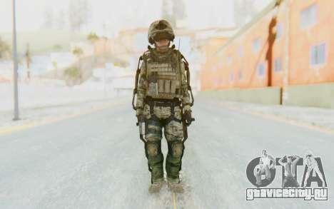 CoD AW US Marine Assault v4 Head D для GTA San Andreas второй скриншот