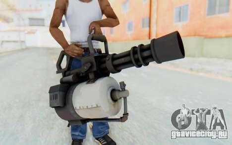 Minigun from TF2 для GTA San Andreas