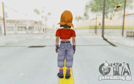 Dragon Ball Xenoverse Pan SJ для GTA San Andreas третий скриншот