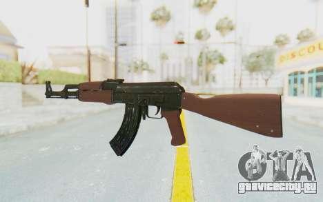 Assault AK-47 для GTA San Andreas второй скриншот