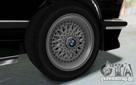 BMW M635 CSi (E24) 1984 HQLM PJ3 для GTA San Andreas вид справа