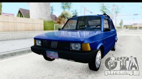Fiat 147 Spazio TR Stock для GTA San Andreas вид сзади слева