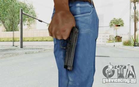 Tariq Iraqi Pistol Back v1 Black для GTA San Andreas третий скриншот