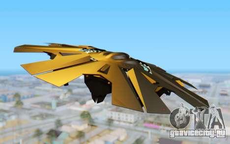 GTA 5 UFO B-2 Style для GTA San Andreas вид справа