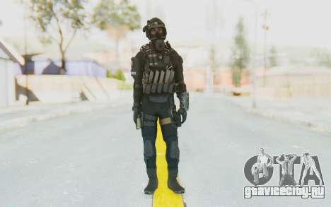 Federation Elite SMG Tactical для GTA San Andreas второй скриншот