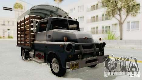 Chevrolet 56 Mini C.O.E. для GTA San Andreas